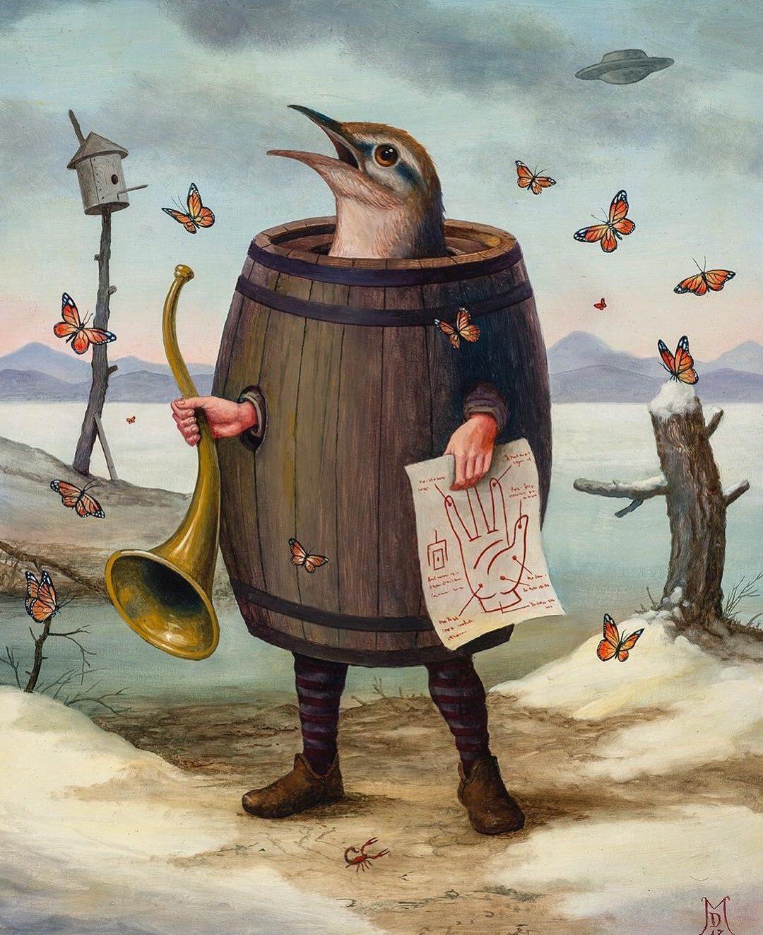 juxtapoz art magazines bird in barrel