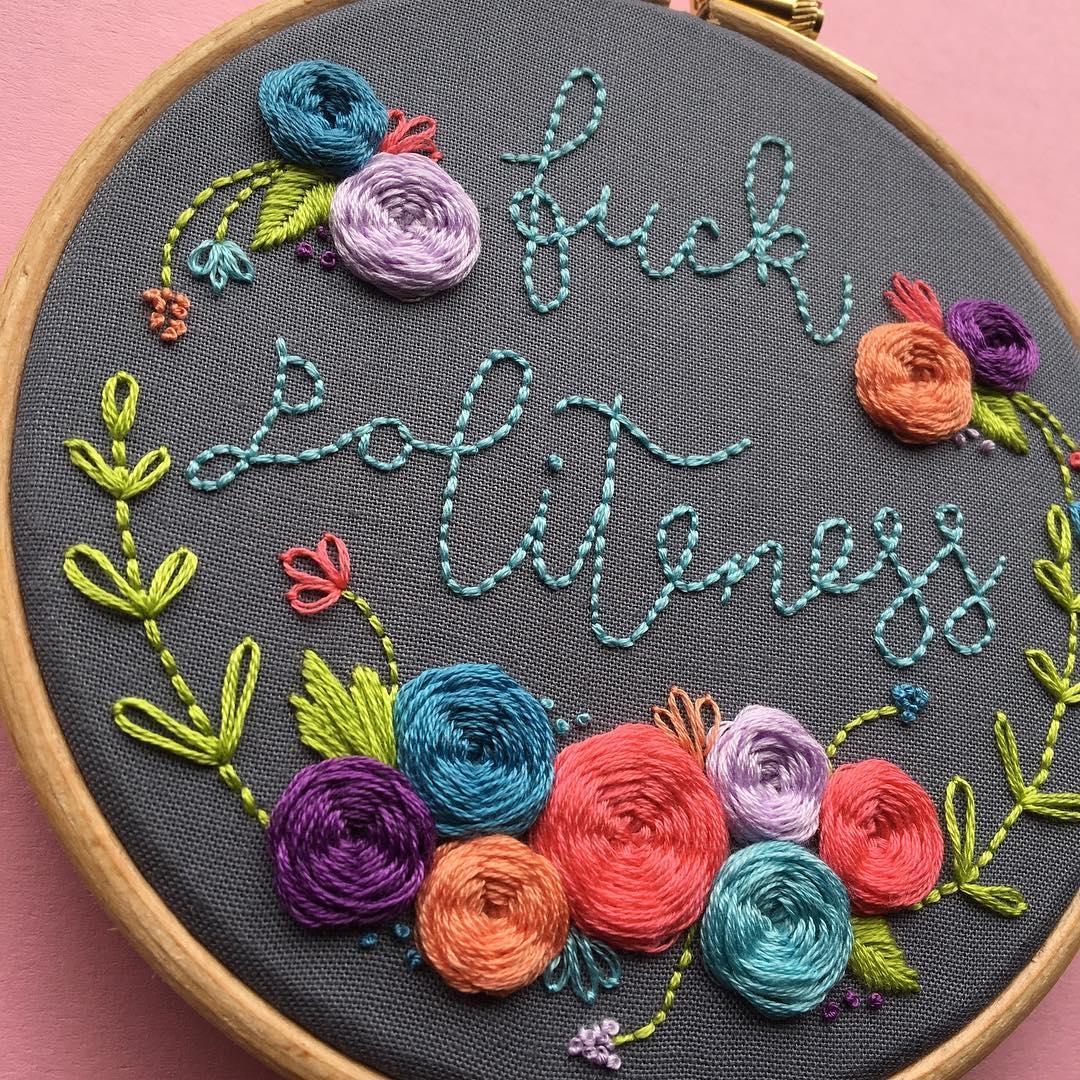 nicolemonjeau instagram embroidery