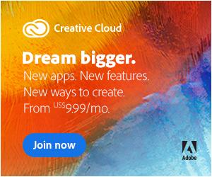 Adobe CC Affiliate Banner