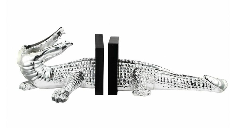 Crocodile Bookends Home Decor Holiday Gift Guide
