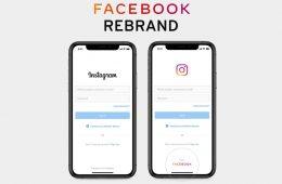 New Facebook Logo Rebrand