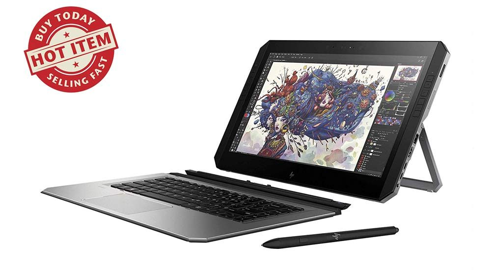 HP Zbook x2 Tech Holiday Gift Guide