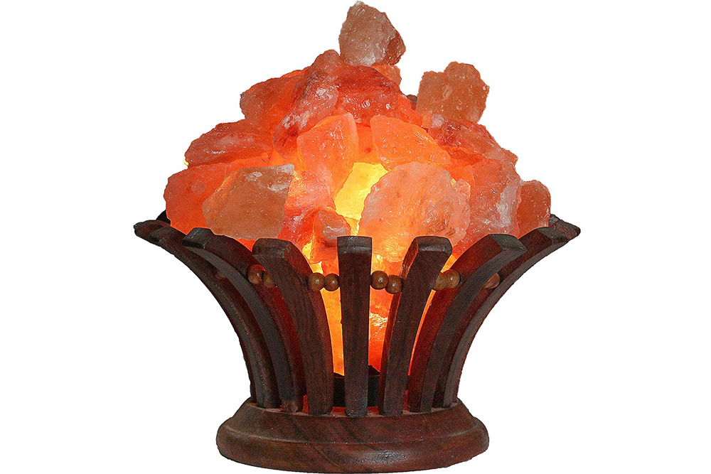Himalayan Salt Rock Bouquet Home Decor Holiday Gift Guide