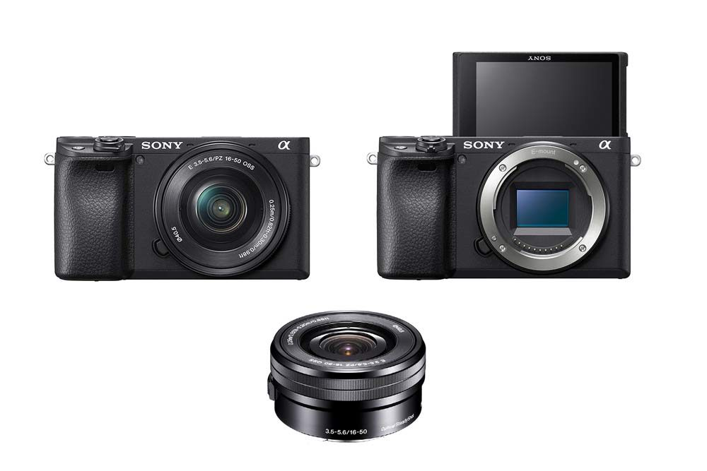 Sony Alpha a6400 16-50mm Lens Photography Holiday Gift Guide