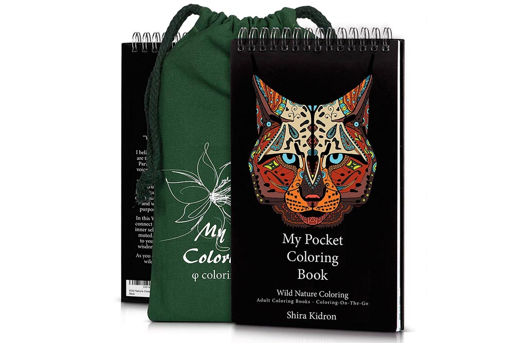 Mini Adult Coloring Book Stocking Stuffers