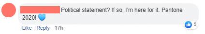 Pro Classic Blue Comment