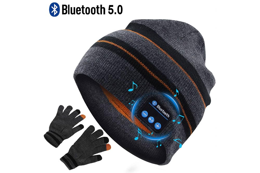 Wireless Headphone Beanie Hat Stocking Stuffers